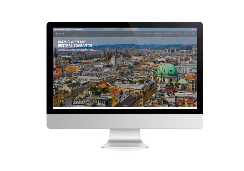 talklick webdesign - Referenzen Möbelmobil Umzug Wien